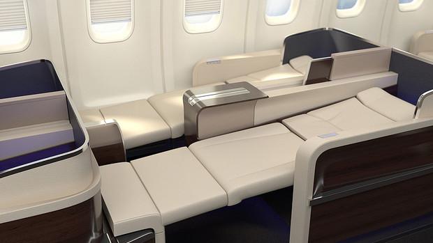 Four Seasons jet cabin
