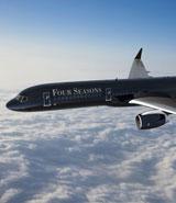Four Seasons plane