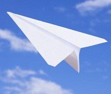 Paper_airplane_flying_Vstock
