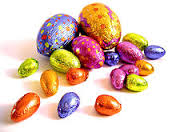 small easter eggs
