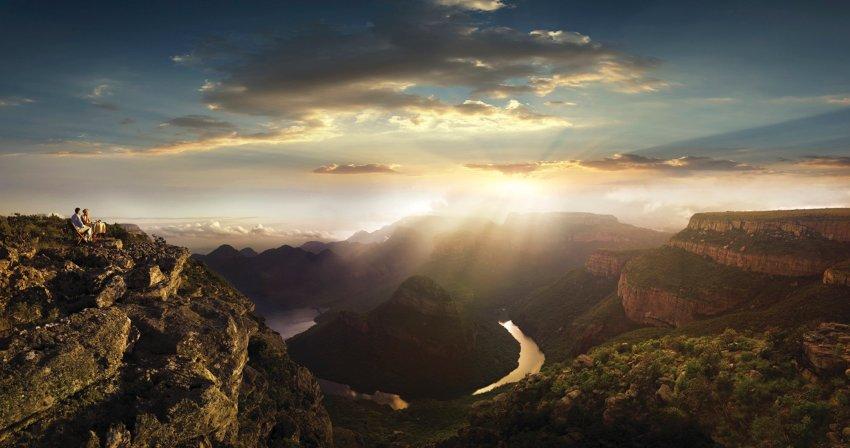 Tarzane der Neuzeit: Drahtseilakt in Südafrikas Drakensbergen