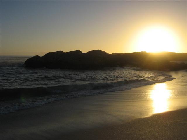 yzerfontein-sunset