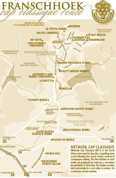 franschhoek route
