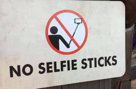 ban selfie stick