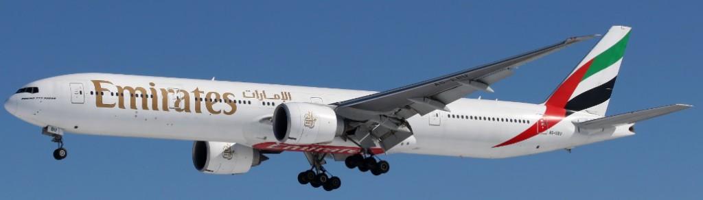 emirates aircraft