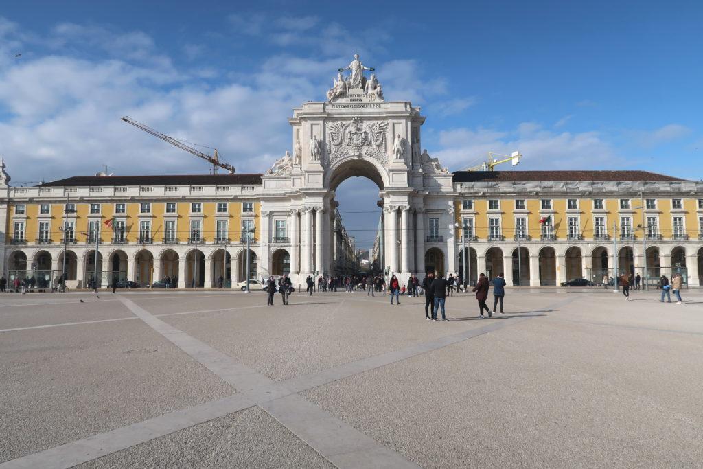 Praca do Commercio, Lisbon, Portugal